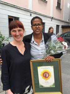 AmalAden fikk Gina Krohg pris